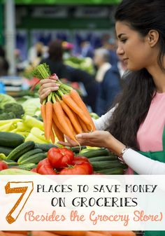 Save Money on Groceries in 7 places besides the grocery stores - Addicted 2 Savings 4 U