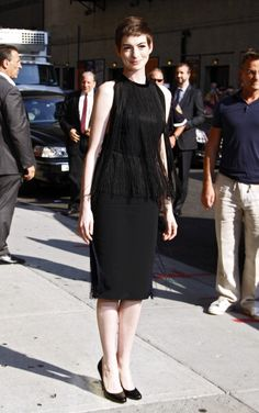 Best Dressed: Anne Hathaway in Stella McCartney, Diane Kruger in Louis Vuitton and More: Anne Hathaway in Stella McCartney