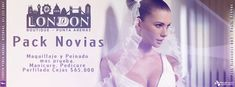 Diseño Promo Portada Facebook London, Facebook, Suppers, Cover Pages, Make Up