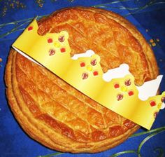 Galette des Rois - Kings' Cake for the Epiphany - Discover the origin of this tradition #celebration www.travelfranceonline.com