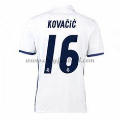 Fodboldtrøjer La Liga Real Madrid 2016-17 Kovacic 16 Hjemmetrøje
