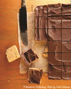 Chocolate Peanut Butter Squares: ridiculously good.