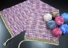 裂いた布でつくる裂き織り