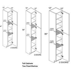 kitchen cabinet depth standard - Standard Kitchen Cabinet Depth