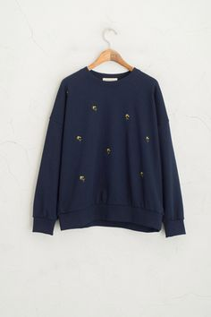 Official site of Olive, the British contemporary lifestyle brand. Stitch Sweatshirt, Olive Clothing, Feminine Style, Fashion Brand, What To Wear, Lily, Classy, Pullover, Sweatshirts