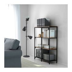 This industrial style looks like something IKEA hackers would do. Now straight from the factory...