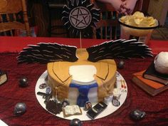 Supernatural birthday cake                                                                                                                                                                                 Mais