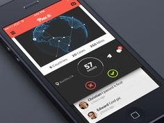 Dribbble - Global Reach UI (iOS7) by Creativedash