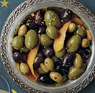 Warm Spiced Olives