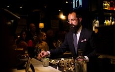 Again, don't you wish your bartender was in a suit?