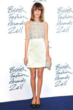 British Fashion Awards // 2011