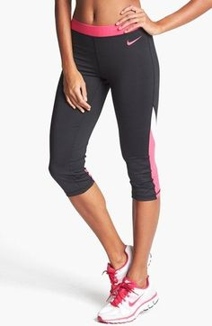 Nike 'Pro Hypercool Flash' Capri Leggings |  ♡  Workout Clothes | Yoga Tops | Sports Bra | Yoga Pants | Motivation is here! | Fitness Apparel | Express Workout Clothes for Women | #fitness #express #yogaclothing #exercise #yoga. #yogaapparel #fitness #diet #fit #leggings #abs #workout #weight | SHOP @ FitnessApparelExpress.com
