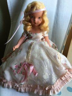 Vintage 1940s Nancy Ann Storybook Doll Princess by Jewelmoon