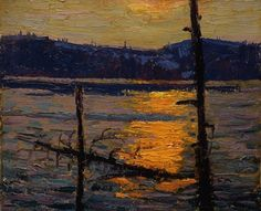 Specialists in selling artwork by Tom Thomson and other Canadian artists for over sixty years. Contact us to sell your artwork by Tom Thomson. Group Of Seven Art, Group Of Seven Paintings, Emily Carr Paintings, Paintings I Love, Oil Paintings, Canadian Painters, Canadian Artists, Nocturne, Abstract Landscape
