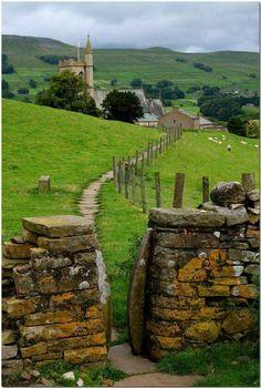 Hawes, Yorkshire, England