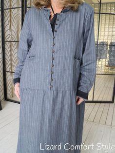 Платье в полоску, тонкая шерсть, юбка на подкладке, размер 50/52/54/56