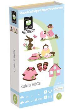Kate's ABCs Cricut Cartridge