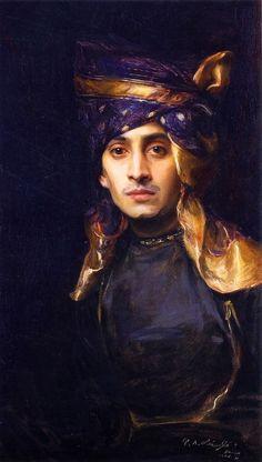 Indian Prince by Laszlo, 1906 via Gods and Foolish Grandeur