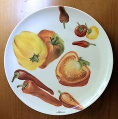 Voglio il mondo a colori: Piatto peperoni
