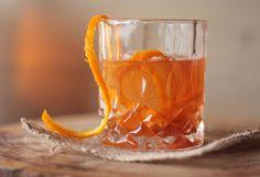 Orangey Old Fashioned on www.khachilife.com Photo: Camille Llosa