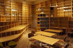 Voyage Group Office library