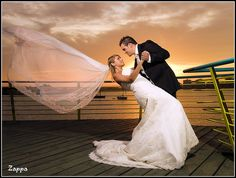 beautiful cruise wedding photo