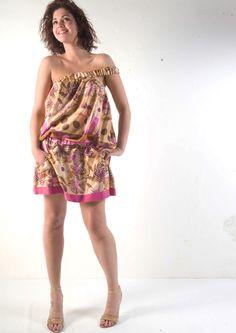 #abito monospalla Sara Tassi #Maison 39