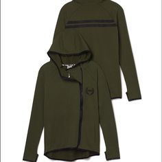 ISO, OLIVE GREEN HOODIE IF YOU HAVE ANY OLIVE COLORED CLOTHES PLEASE COMMENT.... I wanted this jacket from PINK! Went online the next day and all of them were sold out in this color  please help me! PINK Victoria's Secret Tops Sweatshirts & Hoodies
