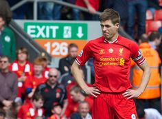 Steven Gerrard is the player to bounce back after a mistake #LFC