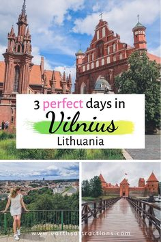 Planning a trip to Vilnius, Lithuania and looking for some inspiration? Here is a itinerary for Vilnius, packed with the best things to do in Vilnius, where to stay, and numerous Vilnius…More Top Travel Destinations, Europe Travel Tips, Travel Guides, Places To Travel, Nightlife Travel, Travel Deals, Holiday Destinations, Italy Travel, Traveling Europe