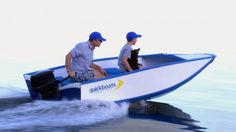 The Quickboat set to be launched on August 1st, is a foldable boat that its creators claim can be assembled in less than a minute. Just click all the parts together and you've got a boat that you can cruise around in at speeds of up to 20 knots.