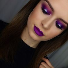 Purple persistence  @thelipstickjungle_ used our 35B palette, our most glamorous selection of shadows to date. We will be doing a massive restock soon!! Come by the Morphe Store in Burbank (Store hours and address in our bio) #morphegirl #morpheselfie