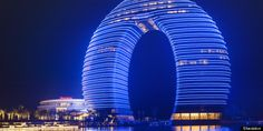 Sheraton Huzhou Hot Spring Resort, China's New 'Horseshoe Hotel'