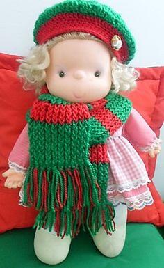 Gorros y bufandas navideñas