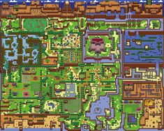 Link's Awakening Maps | Zelda Elements
