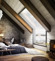 "2,701 To se mi líbí, 13 komentářů – Architecture & Design Magazine (@d.signers) na Instagramu: ""In love with this window! 😍 Bedroom design visualized by Mukesh Raj. Tag an #Architecture Lover!…"""
