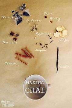 Homemade Chai Concentrate = Lotsa Lattes and Great Gifts - from Hot Pink Apron.com