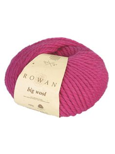 Big wool is a very popular yarn with designers and knitters alike. Made from soft 100% wool, Big Wool is easy to knit and produces designs with amazing cabling and stitch structure effects.