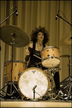 Cindy Blackman...just pure badass.