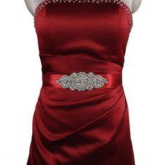Bridal Belt Bridal Sash Red Wedding Dress Crystal Rhinestone Bridal Belt Wedding Dress Belt Wedding Accessory Short Wedding Dress Belt S05 Online with $37.69/Piece on Yupan's Store | DHgate.com