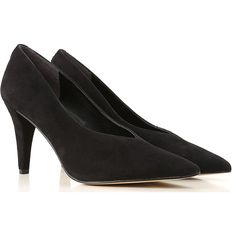 """Available Sizes : 5, Black, Pointed Toe, Covered Heel, Leather Sole,  Suede leather, Womens Shoes: Guess Pumps & High Heels for Women, Pumps, : flb0i4-sue08."""" Stocking Tights, Black Suede Pumps, Guess Shoes, Outlet, Court Shoes, High Heel Pumps, Womens High Heels, Fashion Details, Suede Leather"""