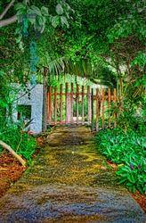 Garden Gate - across from Garrafon Park