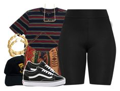 """Untitled #1011"" by trinsowavy ❤ liked on Polyvore featuring Brixton, Bling Jewelry, Lola and Vans"