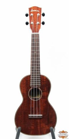 More than just a look-alike, the Eastman EU3 Concert Ukulele captures the tone, playability and island soul of the original classic ukuleles that inspired them. This phenomenal sounding CONCERT ukulele features all solid wood construction with the top, back