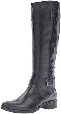 dbe451a9cdb5e Geox D Mendi Stivali D Bottes Femme Schwarz (BLACKC9999) 40 EU Bottes Cuir,