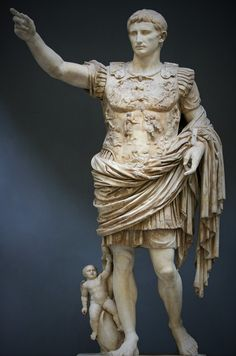 La cámara del arte: Augusto de Prima Porta