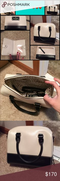 BUNDLE! ❤️ KATE ♠️ SATCHEL & BIFOLD WALLET Wallet still new with tags! Satchel only used once! In great condition! No scratches or anything. Satchel reg. Price ❤️❤️$180 ❤️❤️ wallet reg. Price $119 ❤️❤️ kate spade Bags Satchels
