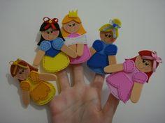 ImaginaArte Dedoches Princesas by ImaginaArte Brindes, via Flickr