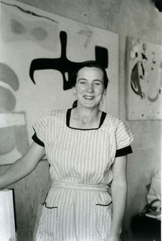 """Art is the concrete representation of our most subtle feelings."" American abstract painter Agnes Martin (1912-2004)."