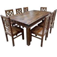Rustic VIII Dining Table U0026 Chairs